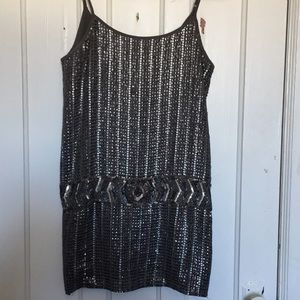 Forever 21 sequin mini dress. Once once